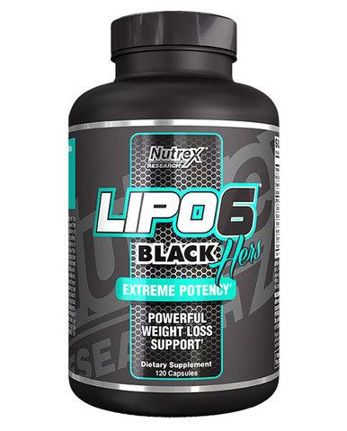 NUTREX Lipo-6 Black Hers 120 кап.