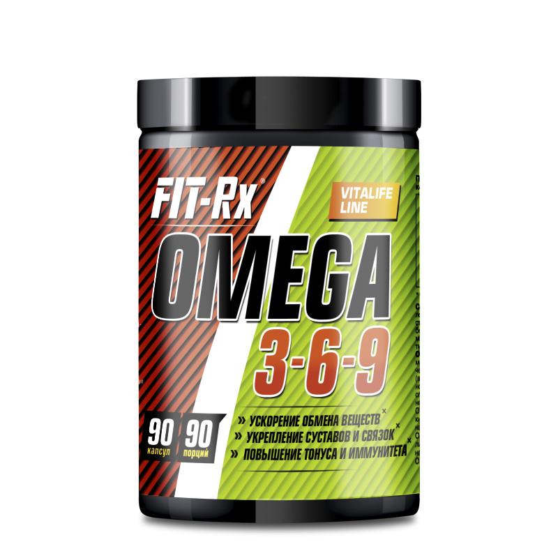 FIT RX Omega 3-6-9 90 кап