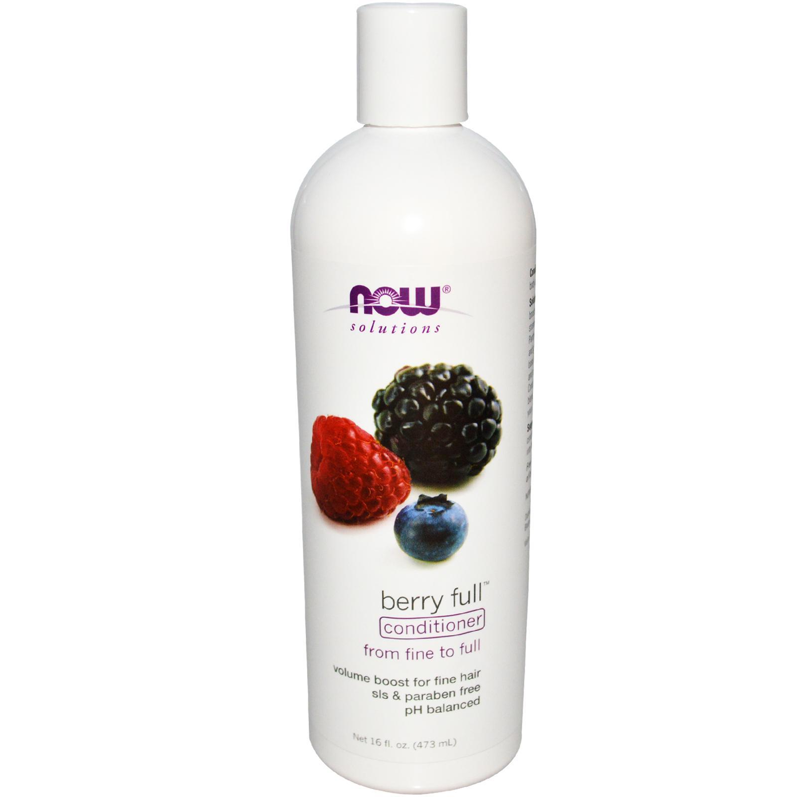 NOW Натуральный кондиционер Berry Full Volumizing 473 мл