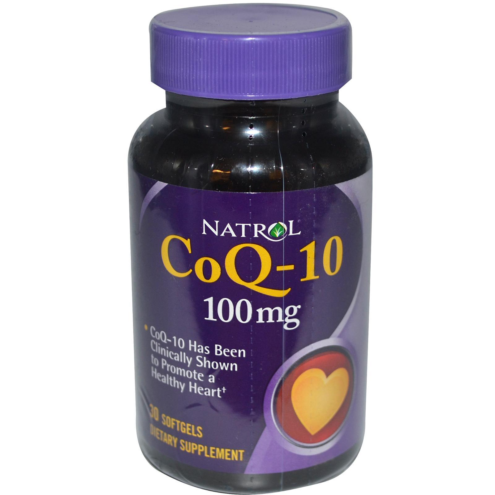 NATROL Co Q-10 100 мг 30 кап.