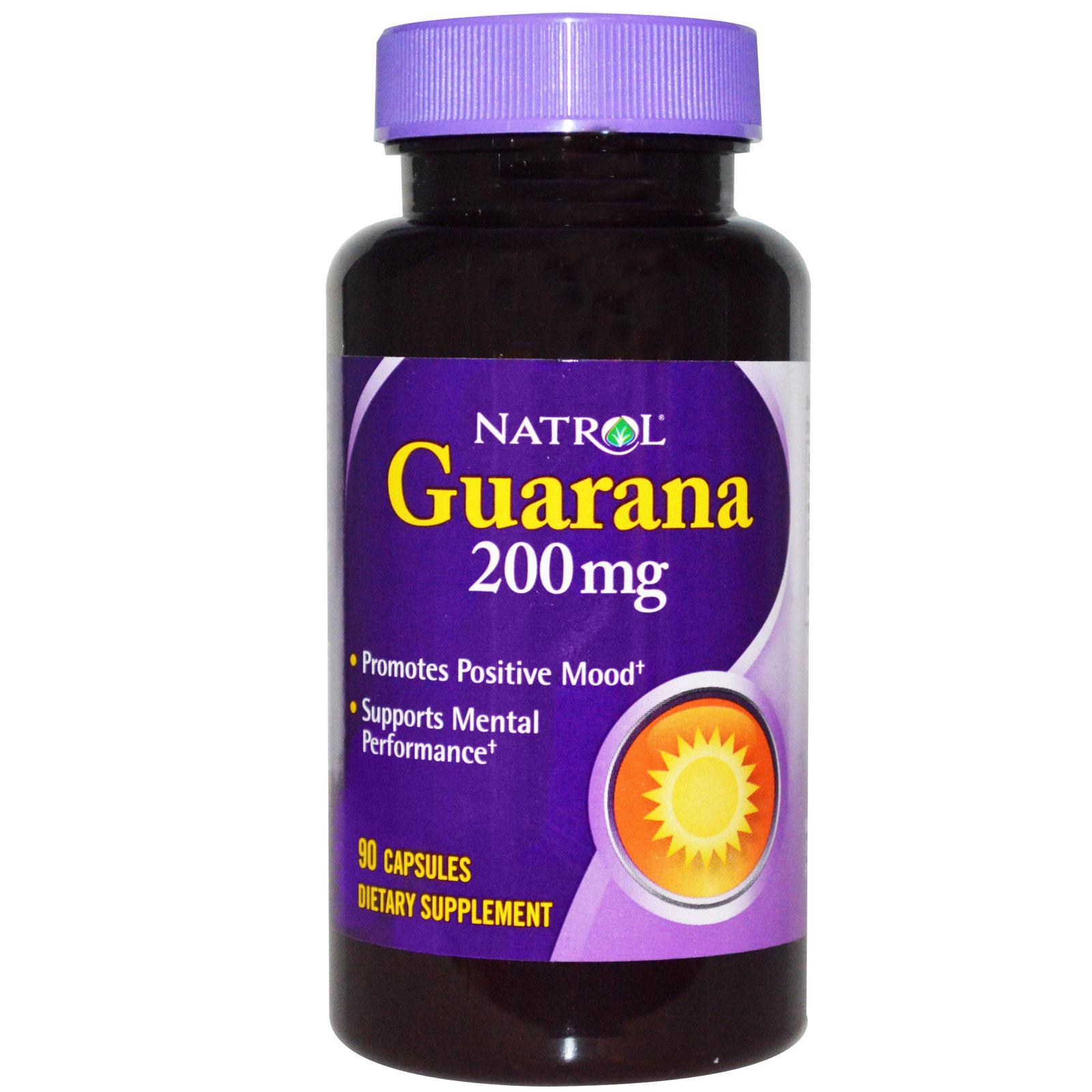 NATROL Гуарана 200 мг 90 кап.