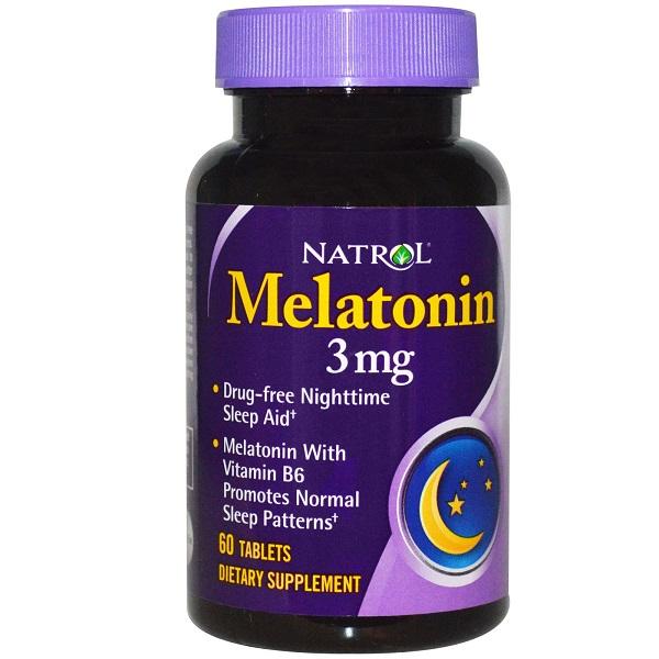 NATROL Melatonin 3 мг 60 таб.
