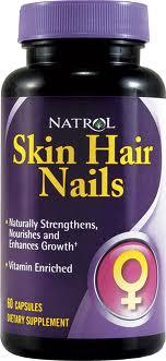 NATROL Skin Hair Nails Women's 60 кап.