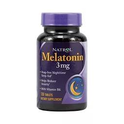 NATROL Melatonin 3 мг 120 таб.
