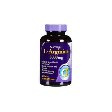 NATROL L-Arginine 3000 мг 90 таб.