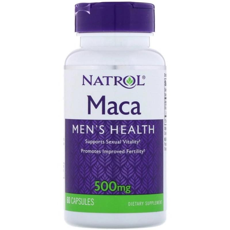 NATROL Maca extract 500 мг 60 капс.
