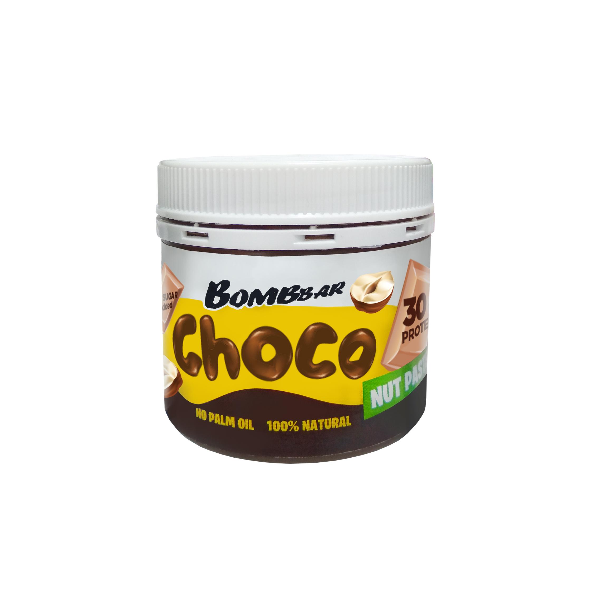 """Шоколадная паста с фундуком ТМ """"BOMBBAR"""" 150 гр"""