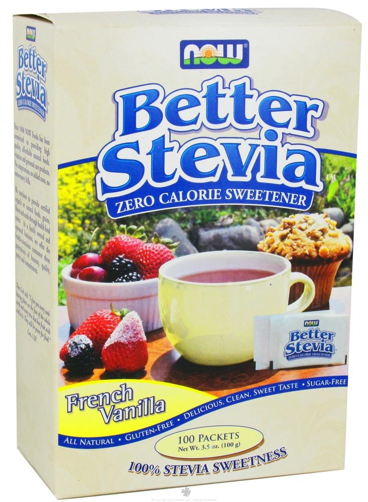 NOW  Better Stevia-Zero Calorie Sweetener 75 пак.