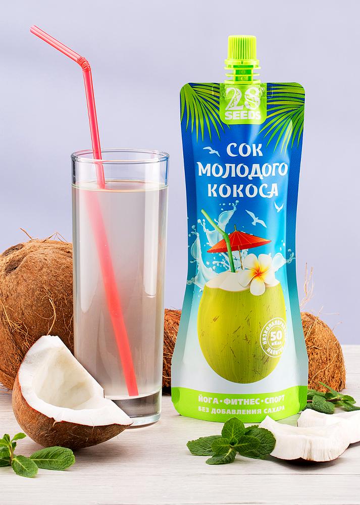 28 SEEDS кокосовая вода 250 мл