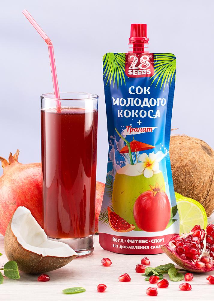 28 SEEDS сок кокоса 250 мл