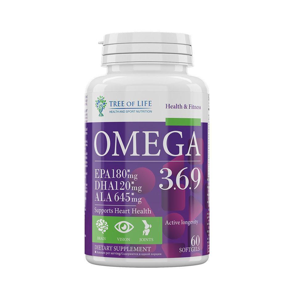 LIFE Omega 3-6-9 60caps