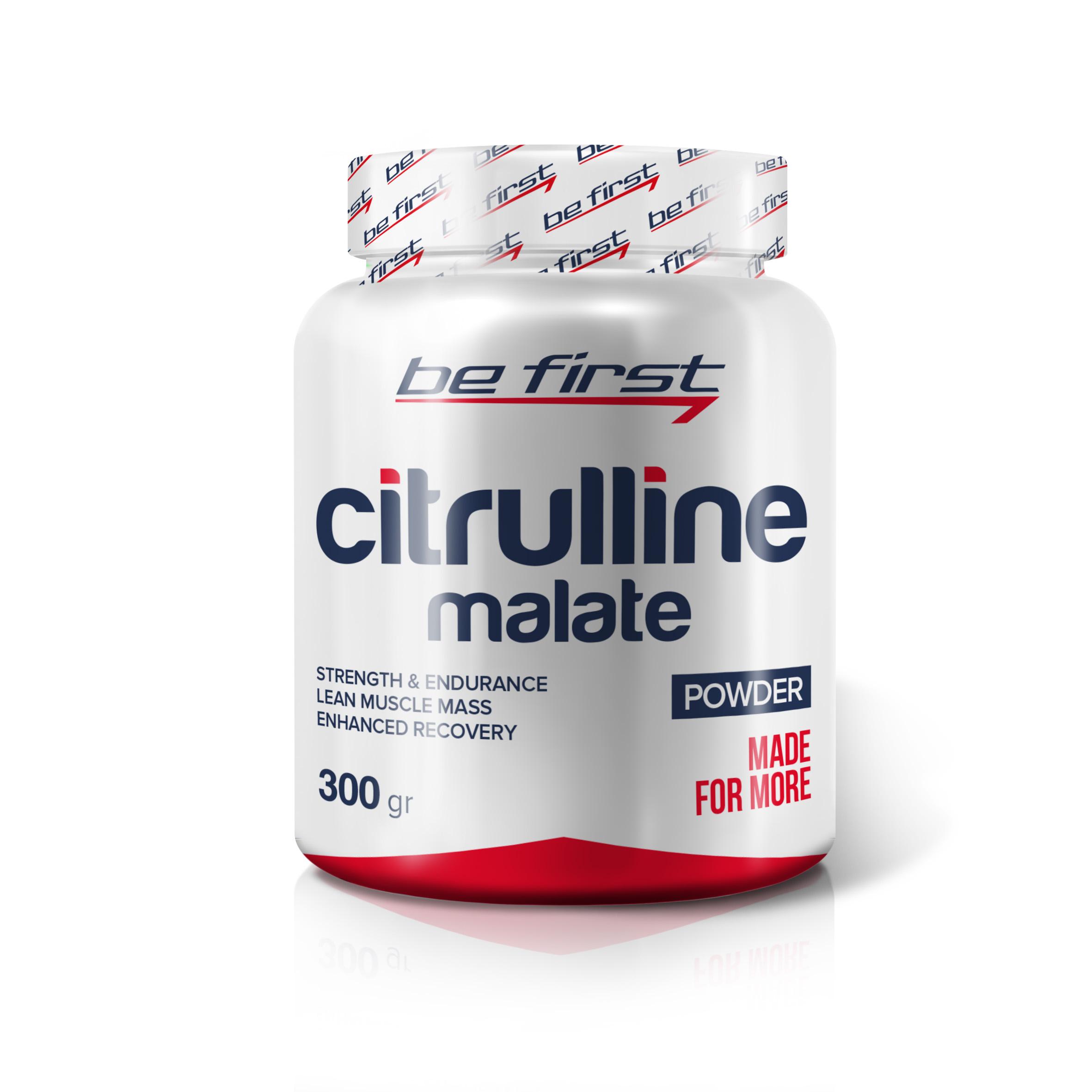 Be First Citrullin malat powder 300 г
