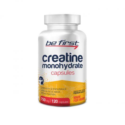Be First Creatine Monohydrate Capsules, 120кап