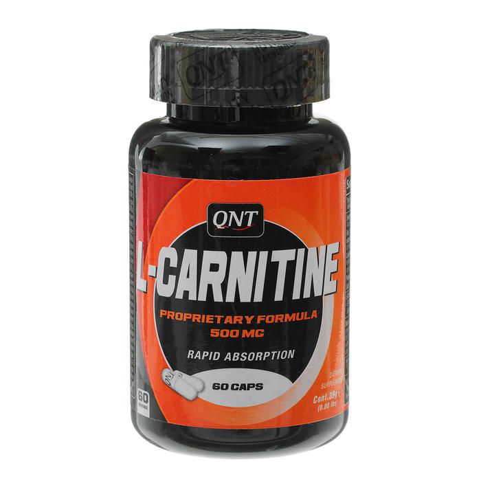 QNT L-Карнитин 60 кап. по 500 мг