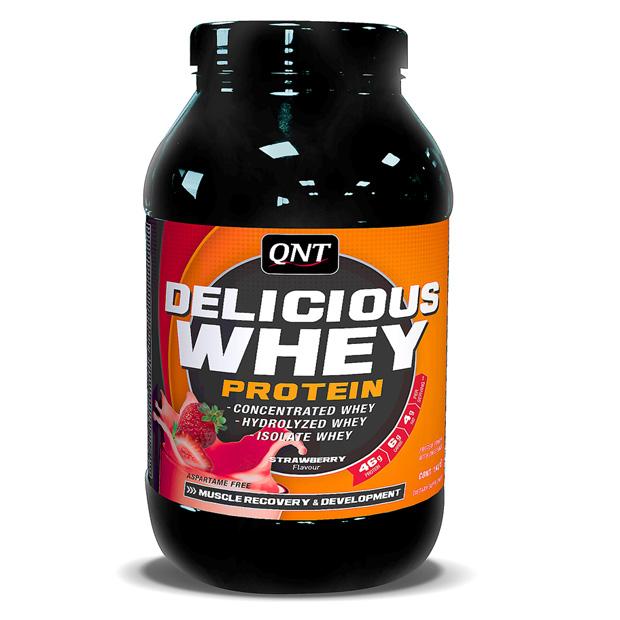 QNT Протеин сыворотки 1 кг DELICIOUS WHEY PROTEIN