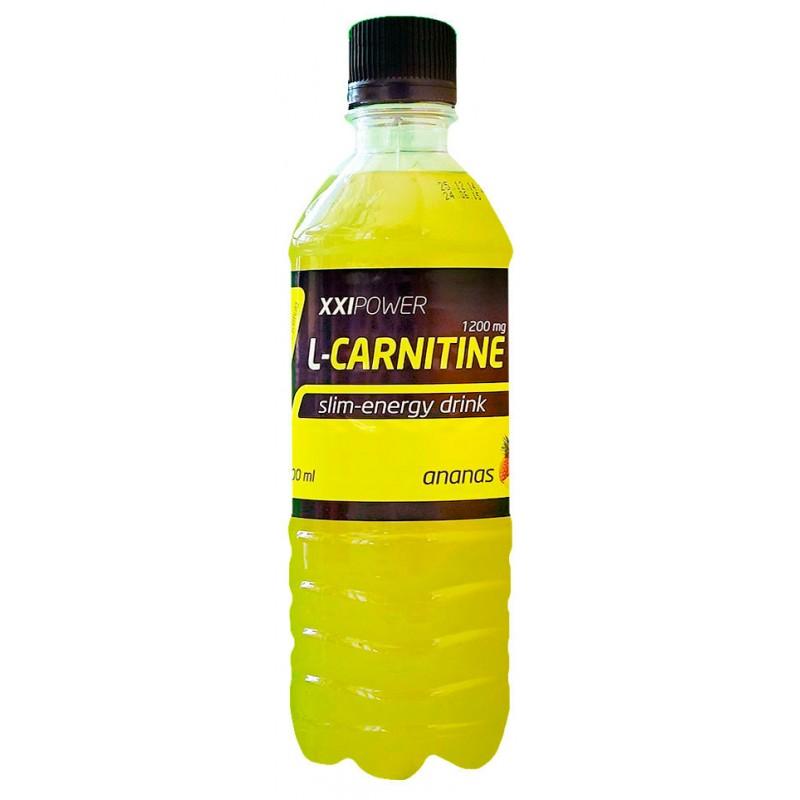 РОССИЯ XXI Напиток L-Карнитин 500 мл (ананас)