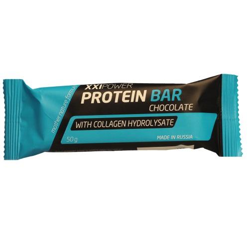 Россия XXI Шоколадка Protein Bar с коллагеном 50 г