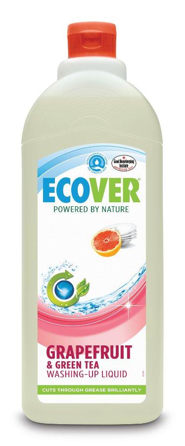 Эко жидкость для мытья посуды с грейпфрутом и зел. чаем 1 л