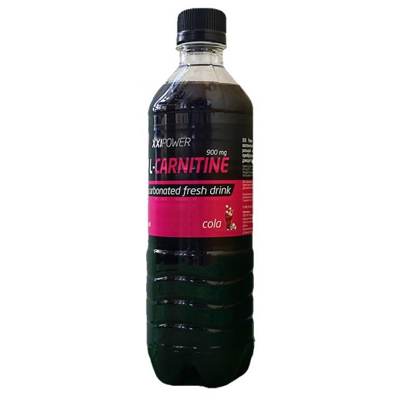 РОССИЯ XXI Напиток L-Карнитин (газирован.)  кола 500 мл