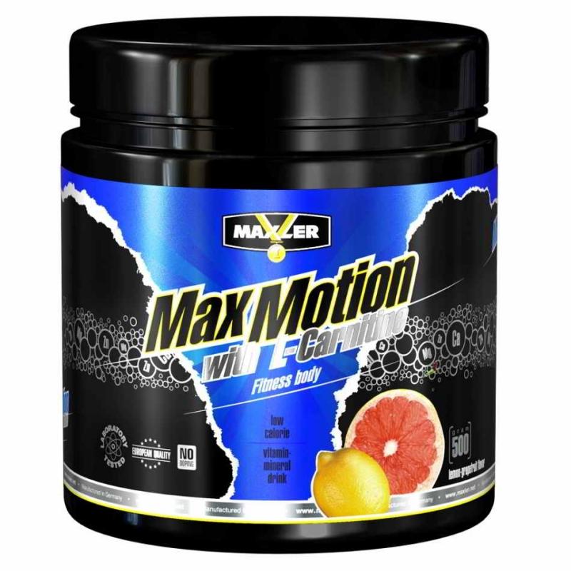 MAXLER Max Motion 500 г with L-Carnitine