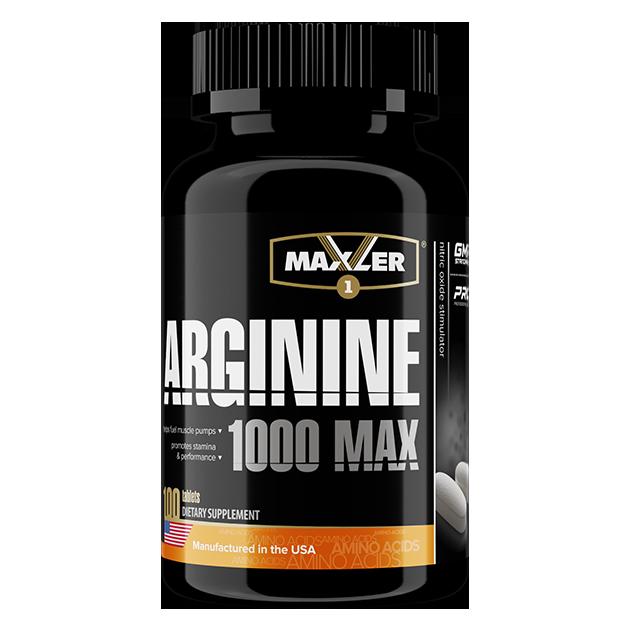 MAXLER Arginine 100 таб.