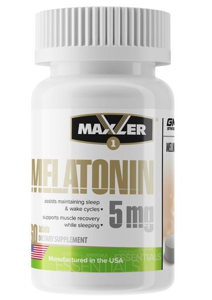 MAXLER Melatonin 5mg 60 tabs