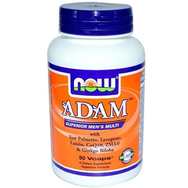 NOW ADAM мужские мультивитамины 90 кап.