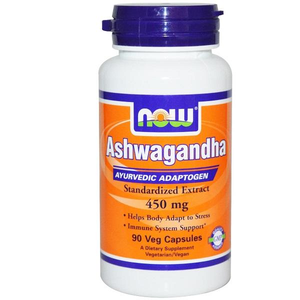 NOW Ashwagandha 450 мг 90 кап.