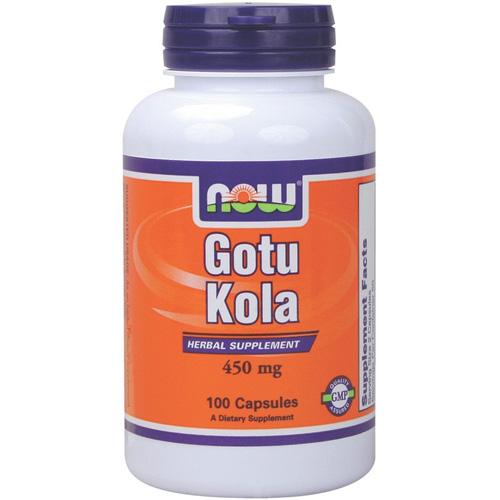 NOW Gotu Kola  450 mg 100 кап.