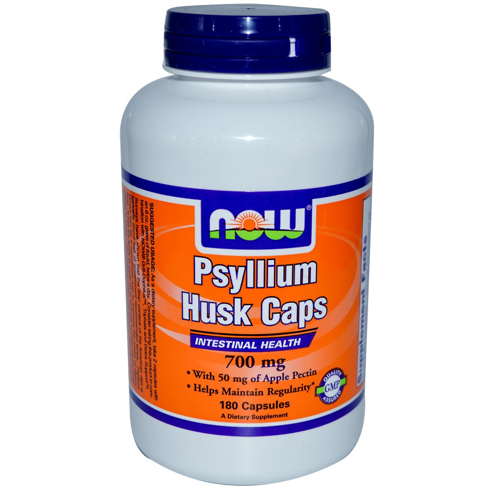NOW Psylium Husk Caps 700 мг 180 кап.