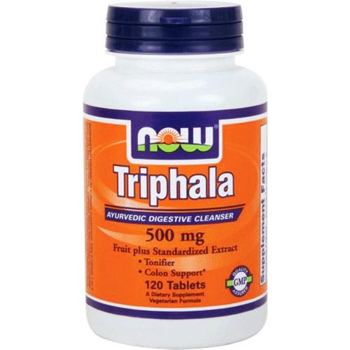 NOW Triphala 500 мг 120 таб.