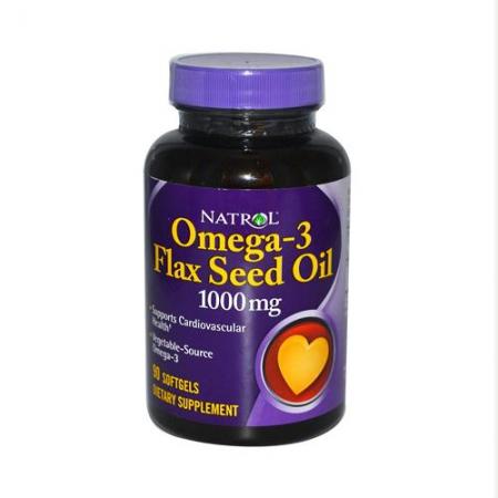 NATROL Omega-3 1000 мг 60 гел.кап.