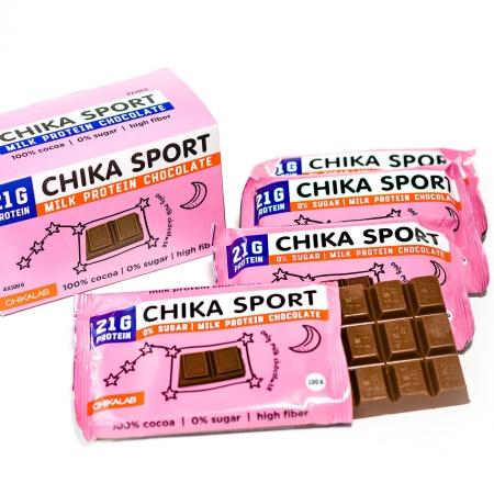 CHIKALAB Шоколад молочный 100 гр.