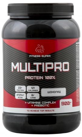 FITNESS SUPER MULTIPRO Protein 100% 900 гр
