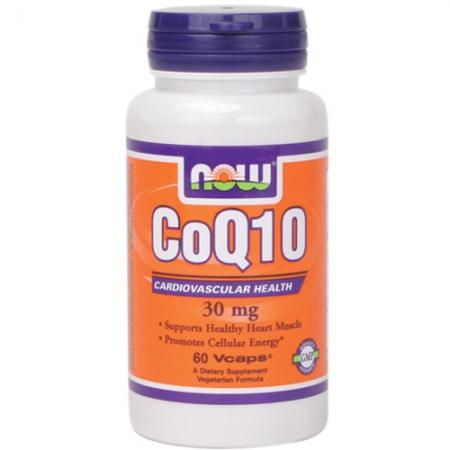 NOW CoQ10 30 mg 60 кап.