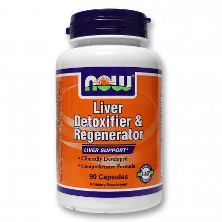 NOW Liver Detoxifier&Regenerator (очищение и восстановление печени) 90 кап.