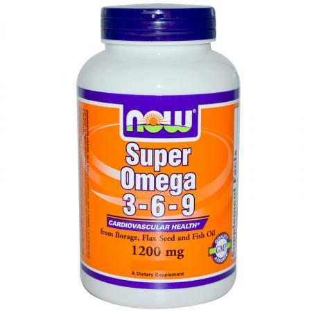 NOW Super Omega 3-6-9 90 кап.