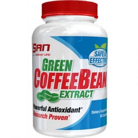 SAN Green Coffee Bean Extract 60 кап.
