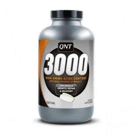 QNT Аминокислоты в таблетках 3000 мг 100 таб.