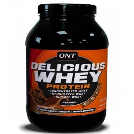 QNT Протеин сыворотки 2,2 кг DELICIOS WHEY PROTEIN