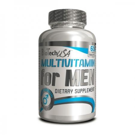 BioTech USA Multivitamin for men 60 таб.