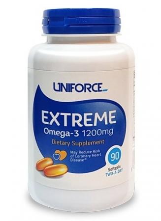 UNIFORCE Omega 3 1200mg 90caps