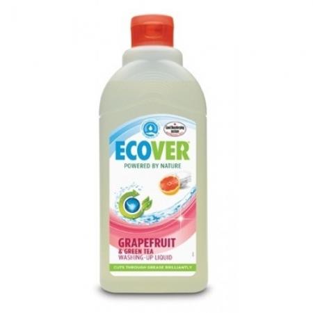 Эко жидкость для мытья посуды с грейпфрутом и зел. чаем 500 мл