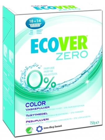 Эко стиральный порошок-ультраконцентрат Zero цветной 750 г