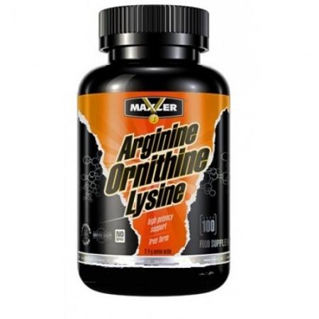 MAXLER Arginine-Ornithine-Lysine 100 кап.