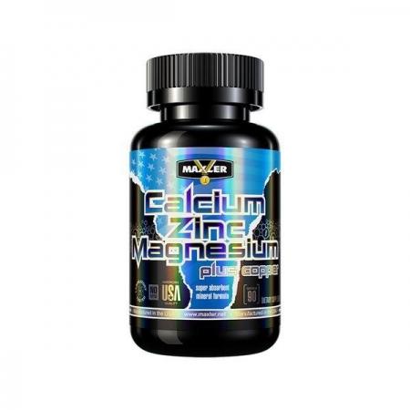MAXLER Calcium Zinc Magnesium 90 таб.