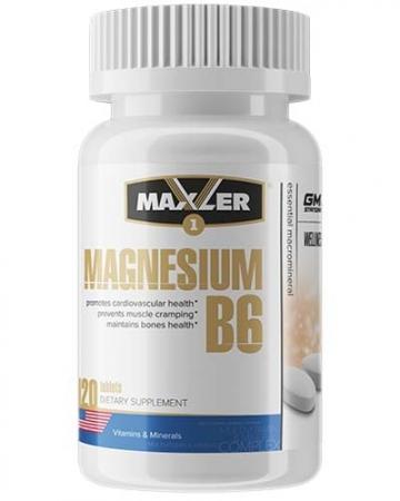MAXLER Magnesium B6 120 табл.