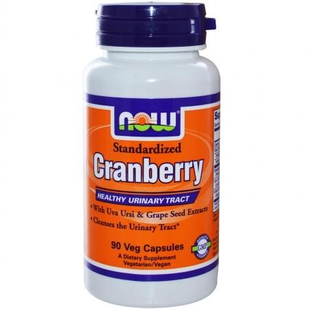 NOW Cranberry (клюква) 90 кап.