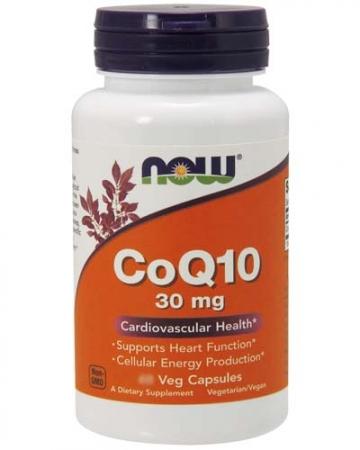 NOW CoQ10 30 mg 120 caps.