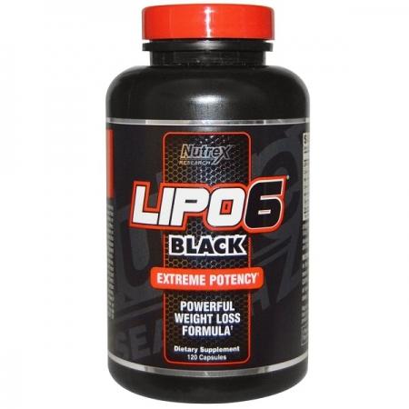 NUTREX Lipo-6 Black 120 кап.